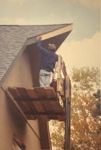 Painting the Eaves